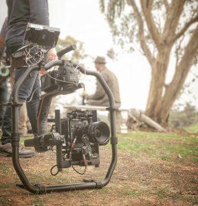 Winery filming in Barossa Valley Australia BTS