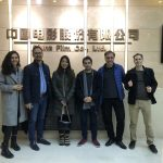 EUFF Delegation at China Film Co.