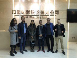 EUFF Delegation at China Film Co.